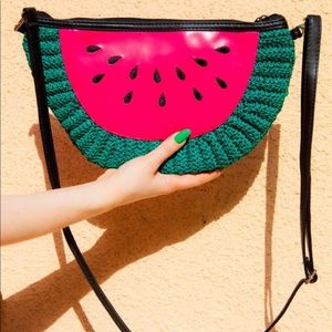 Watermelon purse/clutch